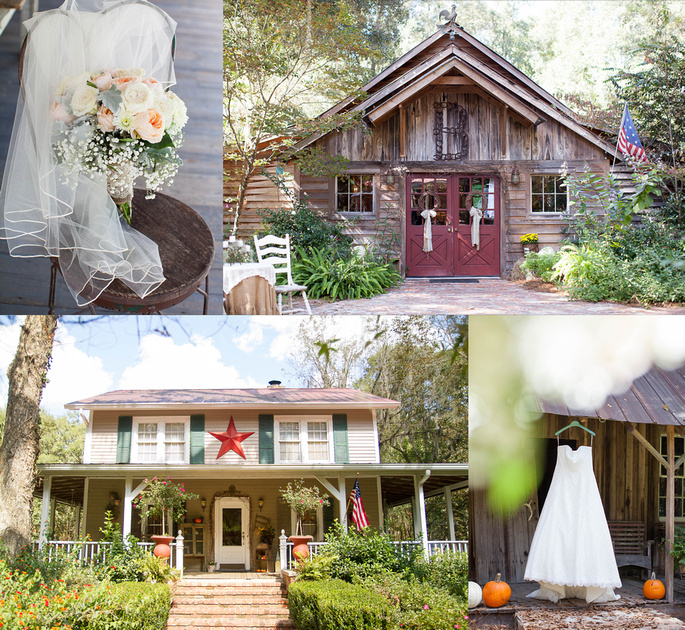 Rustic Barn Weddings In Ga: Captured By Colson Photography